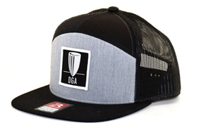 DGA Patch 7-Panel Mesh Snapback Flat Bill Hat