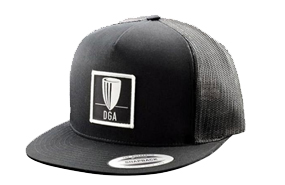 DGA Patch Mesh Snapback Flat Bill Hat