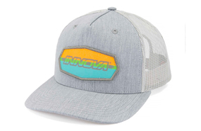 Innova Striped Bar Snapback Mesh Hat