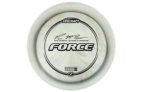 Discraft Z Line Force - Paul McBeth 4x Signature