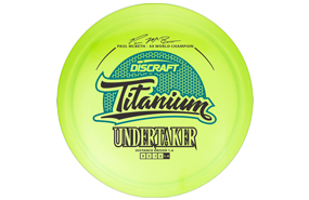 Discraft Titanium Undertaker - Paul Mcbeth 4x Signature