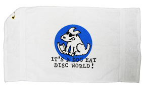 Dog Eat Disc Towel
