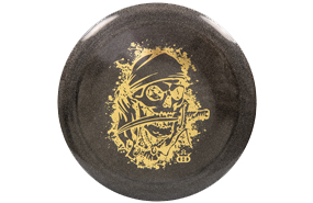 Dynamic Discs Lucid Metallic Raider Pirate Stamp