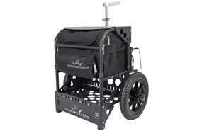 Dynamic Discs Transit Cart - Matte Black