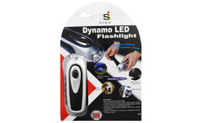 Dynamo LED Flashlight