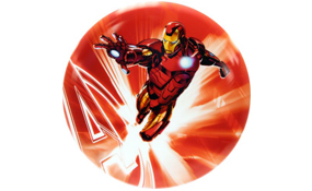 Dynamic Discs DyeMax Marvel Iron Man Red Flare