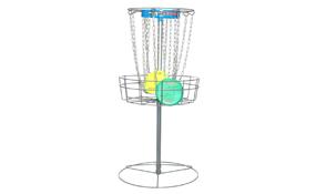 DGA Mach Shift 3-in-1 Portable Practice Basket