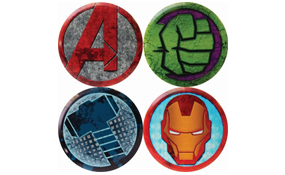 Dynamic Discs DyeMax Judge Mini - Marvel Cracked Series