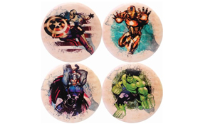 Dynamic Discs DyeMax Judge Mini - Marvel Splatter Series