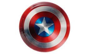 Dynamic Discs Marvel Captain America Shield DyeMax Truth
