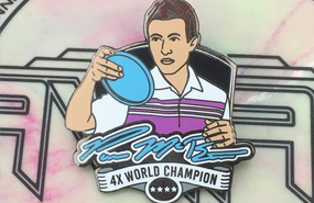 Disc Golf Pins - Paul McBeth
