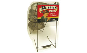 Frisbie Pie Co. - Cascading Pie Rack