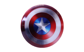 Dynamic Discs DyeMax Judge Mini - Marvel Captain America Shield
